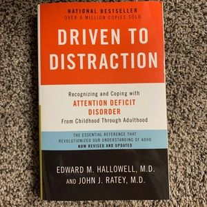 """Driven to Distraction"" Coping with ADD Book"